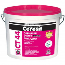 Акриловая краска Ceresit СТ 44