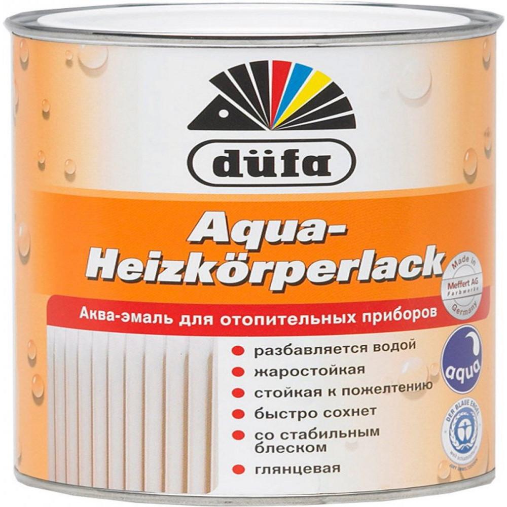 Аква-эмаль Dufa Aqua-Heizkorperlack