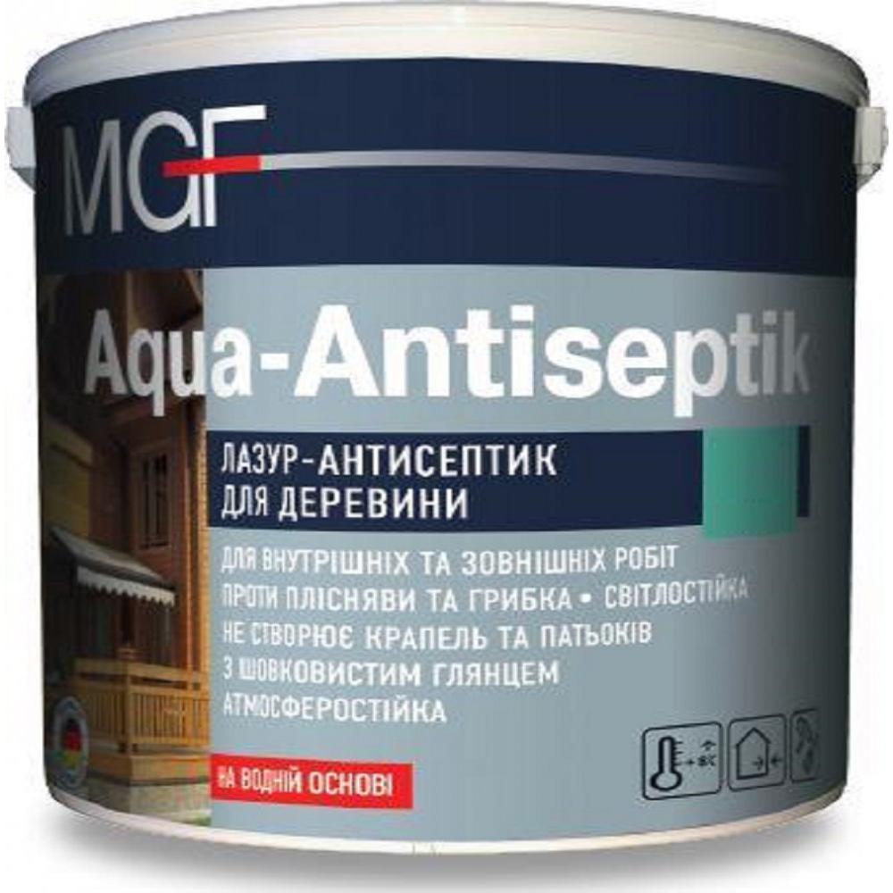 Лазурь-антисептик MGF Aqua-Antiseptik (Белая)