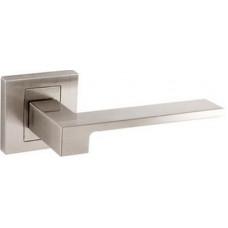 Дверная ручка CARO, цвет - серебряный, серебряный матовый