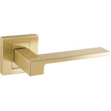 Дверная ручка CARO, цвет - золотой, золотой матовый