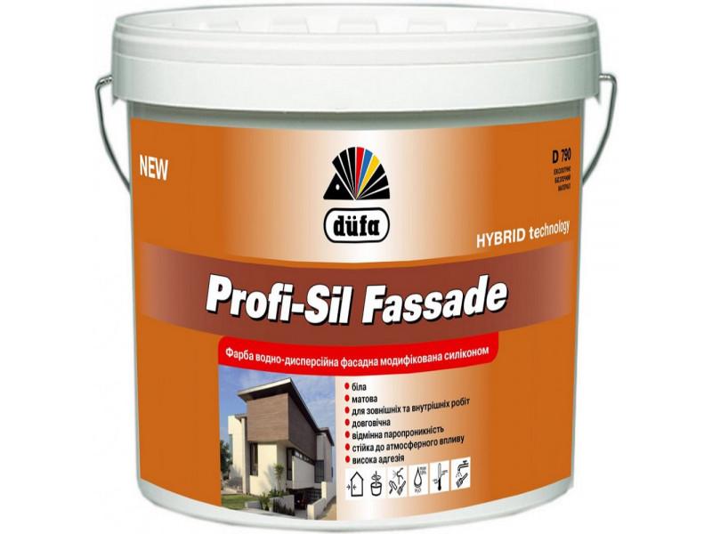 Краска модифицированная силиконом Dufa D790 Profi-Sil Fassad