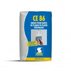 Многофункциональная высокопрочная шпаклевка для заделки стыков Semin CE 86