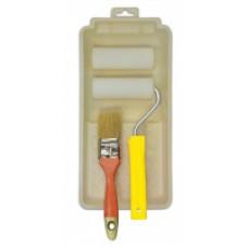 Набор малярный (Мольтопрен 100 мм - 2 шт., ручка, кюветка, пензель)