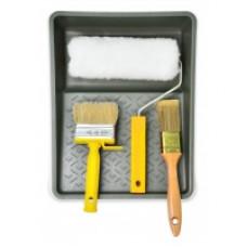 Набор малярный (Вестан 180 мм, ручка, кюветка, кисть, макловиця)