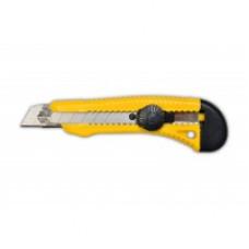 Нож с крутящимся фиксатором 18 мм