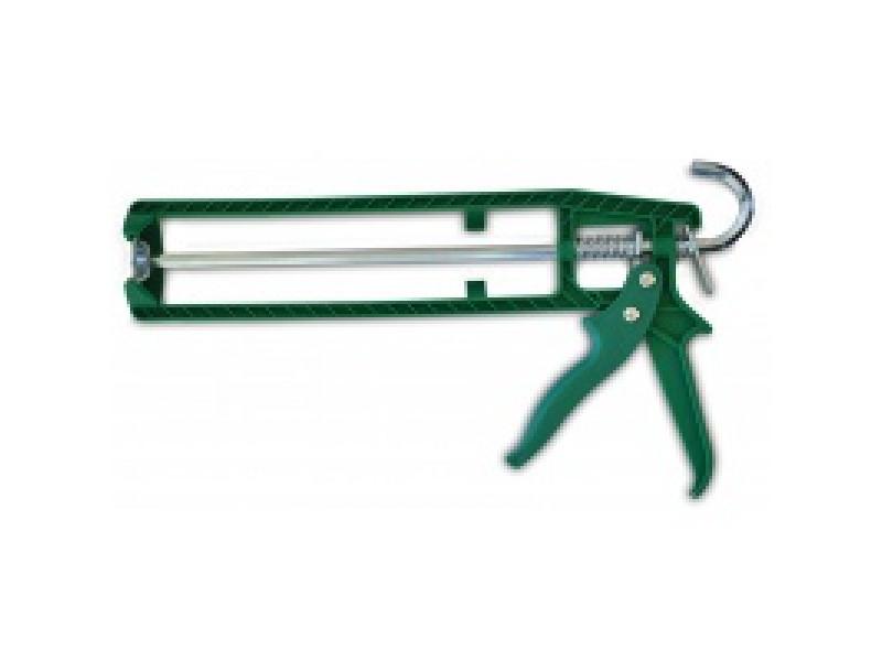 Пистолет для герметика. Пластмассовый скелетный корпус