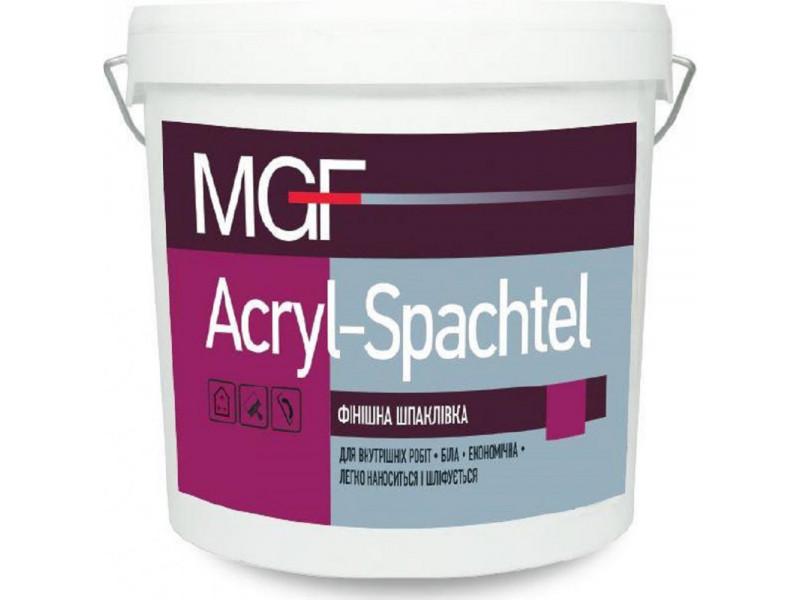 Финишная шпаклевка MGF ACRYL-SPACHTEL