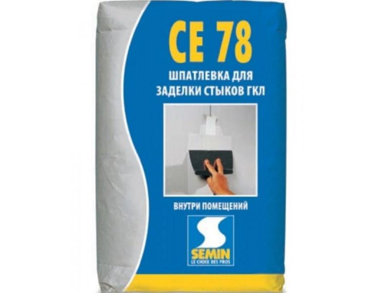 Шпаклевка для заделывания стыков Semin CE 78 RAPIDE