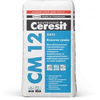 Клеящая смесь для керамогранита Ceresit CM 12 Gres 25кг