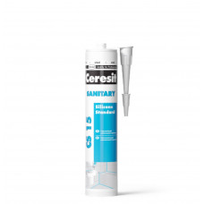 Силиконовый герметик Ceresit CS 15 (Белый) 280мл