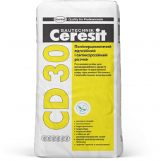 Однокомпонентный, минеральный, антикоррозийный и контактный раствор Ceresit СD 30 25кг