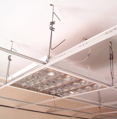 Подвесные потолки AMF: системы монтажа